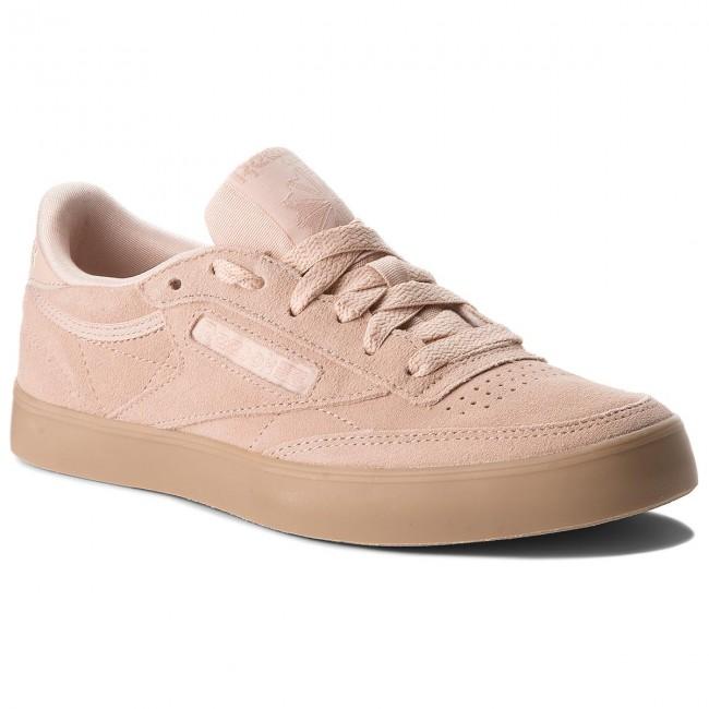 Shoes Reebok - Club C 85 Fvs CN3351 Bare Beige Gum - Sneakers - Low ... 98b73bcae