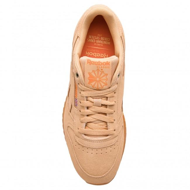 Shoes Reebok Cl Leather Mu CN3874 CappucinoPure OrangeGum