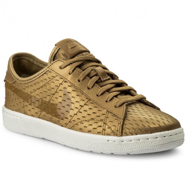 Shoes NIKE - Tennis Classic Ultra Prm 749647 700 Metallic Gold/Flt Gold