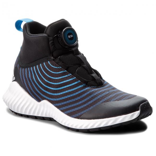 Shoes adidas - FortaTrail Boa K AH2542 Cblack Ftwwht Brblue - Indoor ... 42e258bc0