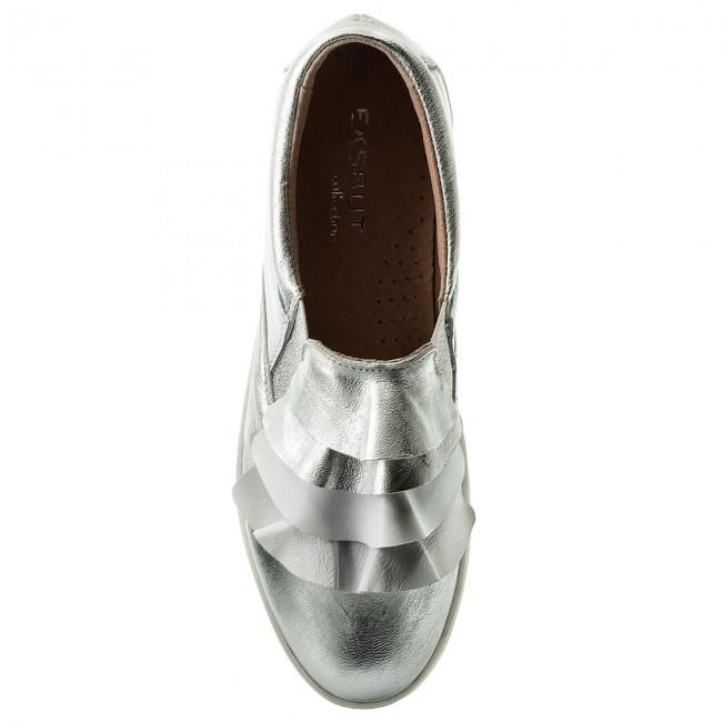 Sneakers EKSBUT - 28-4822-369/378-1G Srebro jTXPu1Z542