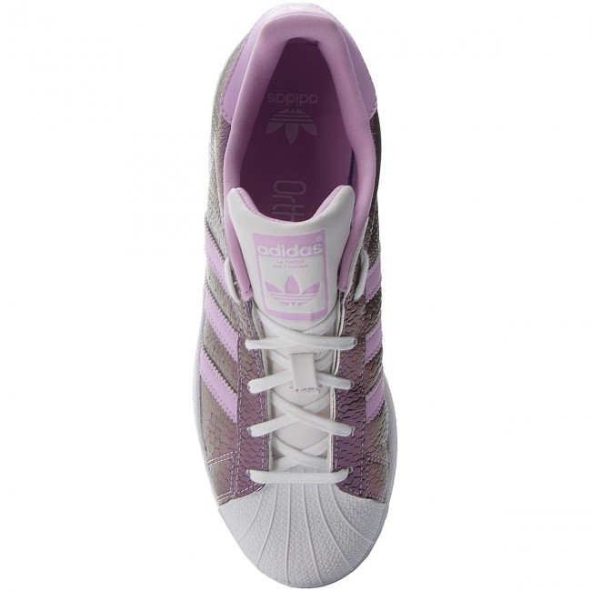 72e5f9fcc Shoes adidas - Superstar J B37184 Ftwwht/Clelil/Ftwwht - Sneakers - Low  shoes - Women's shoes - efootwear.eu