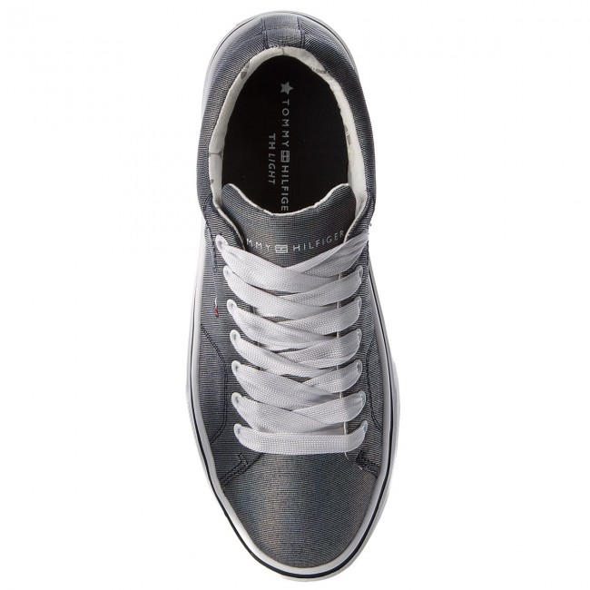Sneakers TOMMY HILFIGER - Metallic Light Weight Lace Up FW0FW03028 Midnight 403 YQ9NxrD82