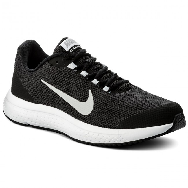 03a548c615738 Shoes NIKE - Runallday 898464 001 Black Wolf Grey White - Indoor ...