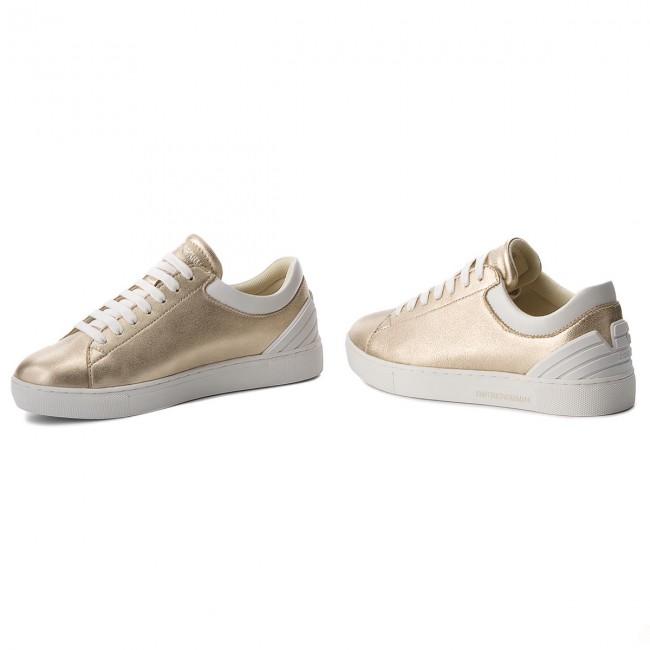 Sneakers Emporio Armani - X3x043 Xl484 P505 Gold/opt.white APmEi