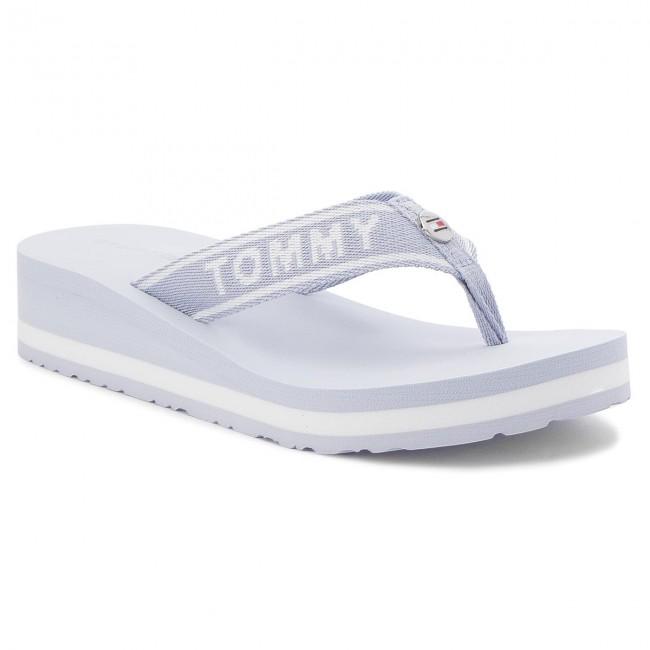 e60972de8 Slides TOMMY HILFIGER - Tommy Branding Beach Sandal FW0FW02953 ...