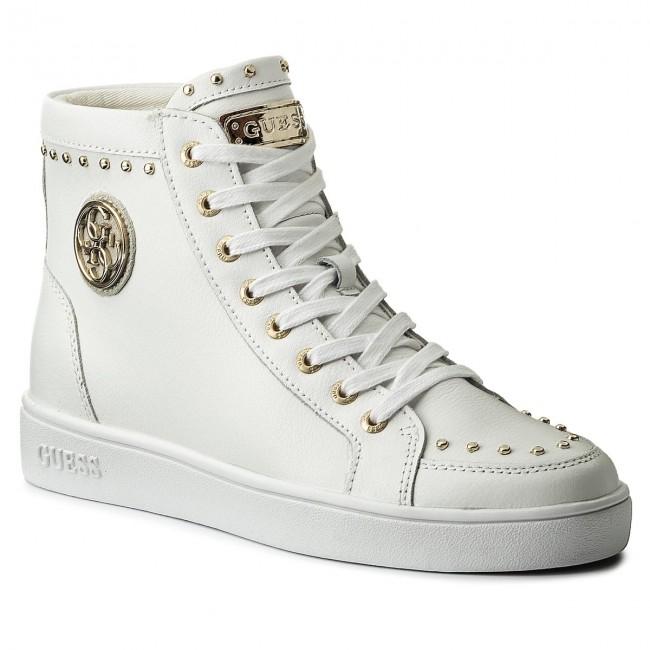 Sneakers Guess - Gerta Flrta1 Lea12 White B6tyaUEl