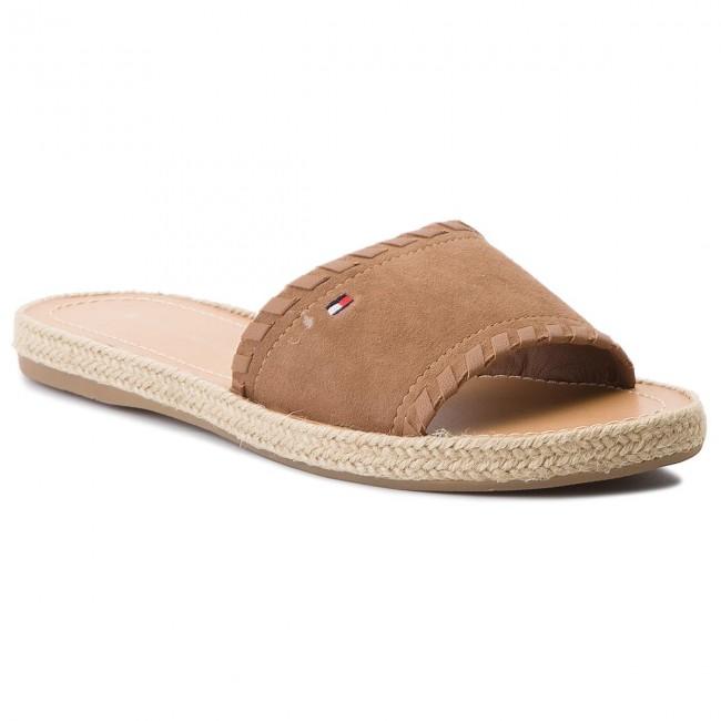 Tommy Hilfiger Women's Interlace Suede Flat Platform Sandals Sale Big Discount IWSWRn