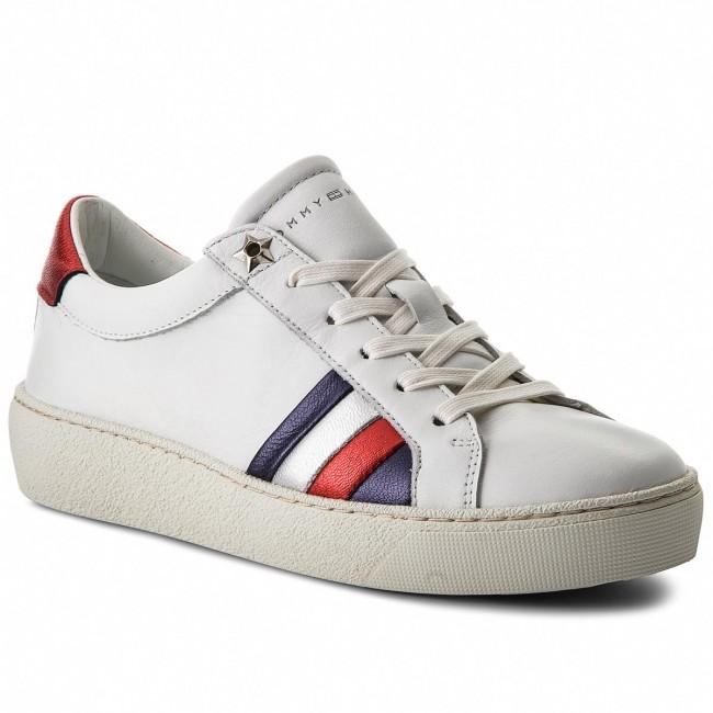 ICONIC LONG LACE - Sneaker low - silver peony T47zEltEn