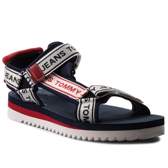 4e15a1aa38b8 Sandals TOMMY JEANS - Mens Tommy Jeans Technical Sandal EM0EM00160 Midnight  403