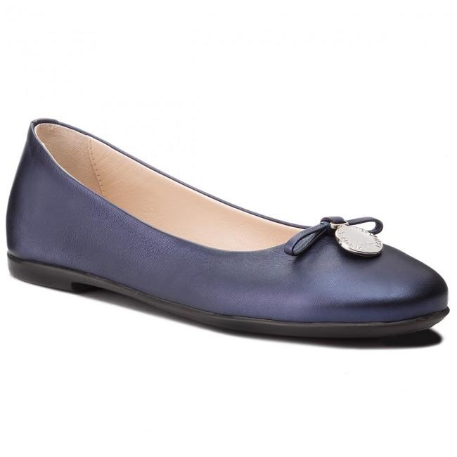 Flats EMPORIO ARMANI - XXD001 XON04 00285 Blue Navy - Ballerina ... 732514dd27e