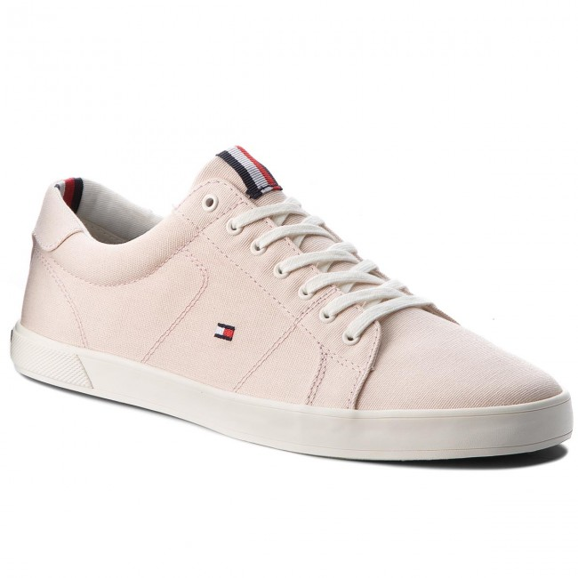 d79a40a512c298 Plimsolls TOMMY HILFIGER - Iconic Long Lace Sneaker FM0FM01669 Silver Peony  642