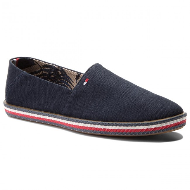 3a9450b880c2 Shoes TOMMY HILFIGER - Easy Summer Slip On FM0FM01803 Midnight 403 ...