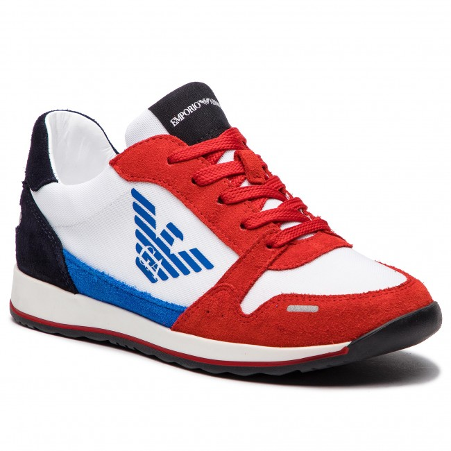 a578f7d54e Sneakers EMPORIO ARMANI - XYX003 XOC01 B0183 Red Wht Red Blt Navy ...