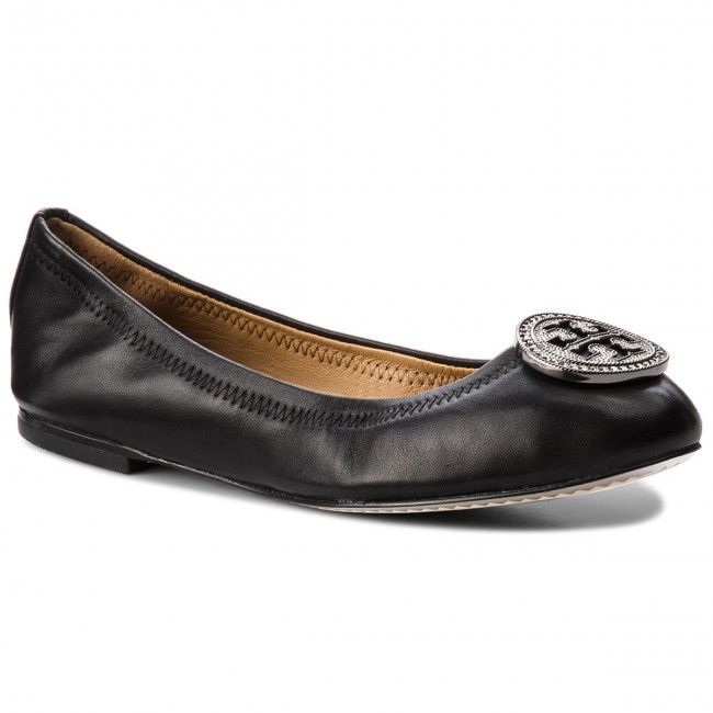 9279c346b4e Flats TORY BURCH - Liana Ballet Flat 46084 Perfect Black 001 ...