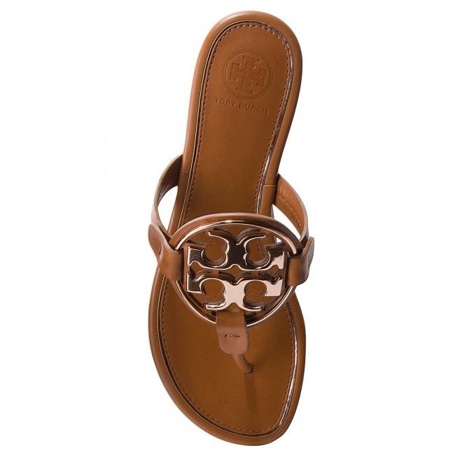 345b558f8 Slides TORY BURCH - Metal Miller 47617 Tan Rose Gold 112 - Flip-flops -  Mules and sandals - Women s shoes - www.efootwear.eu