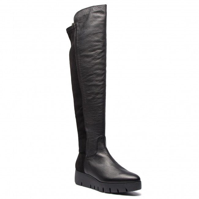 92b4531a87f Over-Knee Boots UNISA - Cristen Sua St Black Suave - Musketeer ...