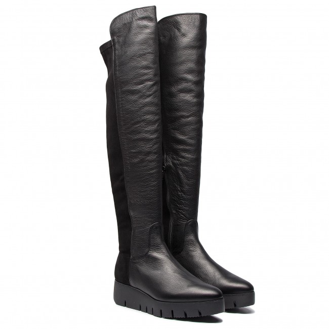 6e2ee012224 Over-Knee Boots UNISA - Cristen Sua St Black Suave - Musketeer - High boots  and others - Women s shoes - www.efootwear.eu