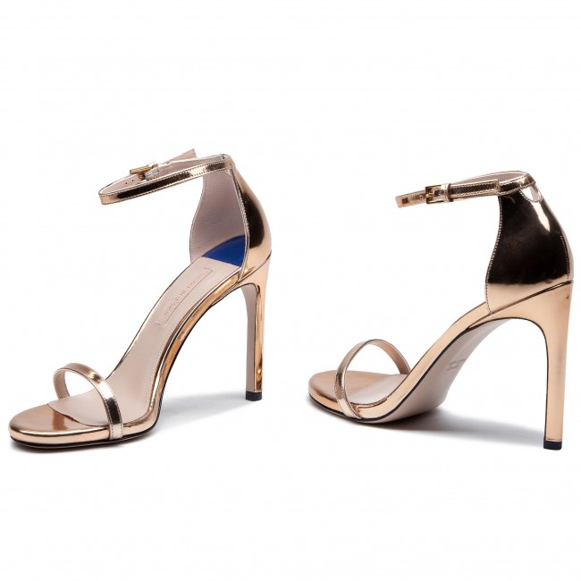 Sandals STUART WEITZMAN - 105Nudisttraditional YL53441 Pure Rose Gold  Specchio 3f87e7a6ab72
