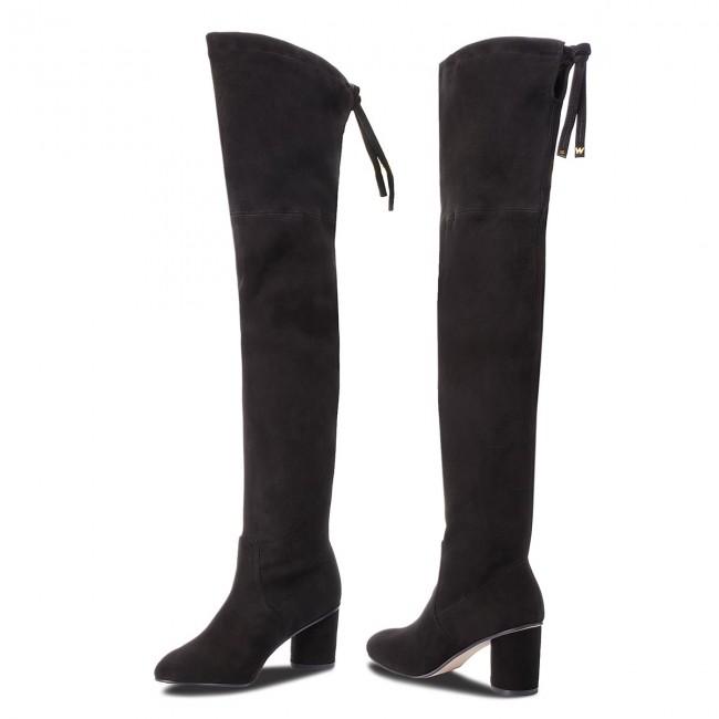 22b236aed91 Over-Knee Boots STUART WEITZMAN - Helena 75 YL53456 Black Suede ...