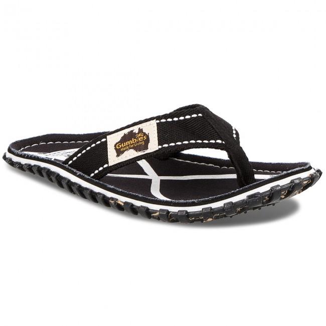 55a7e2e41022e1 Slides GUMBIES - Islander Tattoo - Flip-flops - Mules and sandals ...