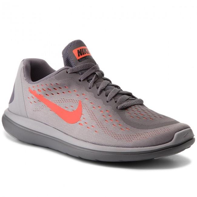 2e5c2b48694a Shoes NIKE - Flex 2017 Rn (GS) 904236 010 Gunsmoke Total Crimson ...