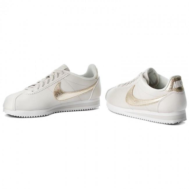 outlet store 72656 dd91d Shoes NIKE - Classic Cortez Prem 905614 007 Light Bone Bronzed Olive