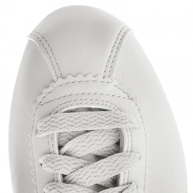 reputable site 91003 b7748 Shoes NIKE - Classic Cortez Prem 905614 007 Light Bone Bronzed Olive -  Sneakers - Low shoes - Women s shoes - www.efootwear.eu