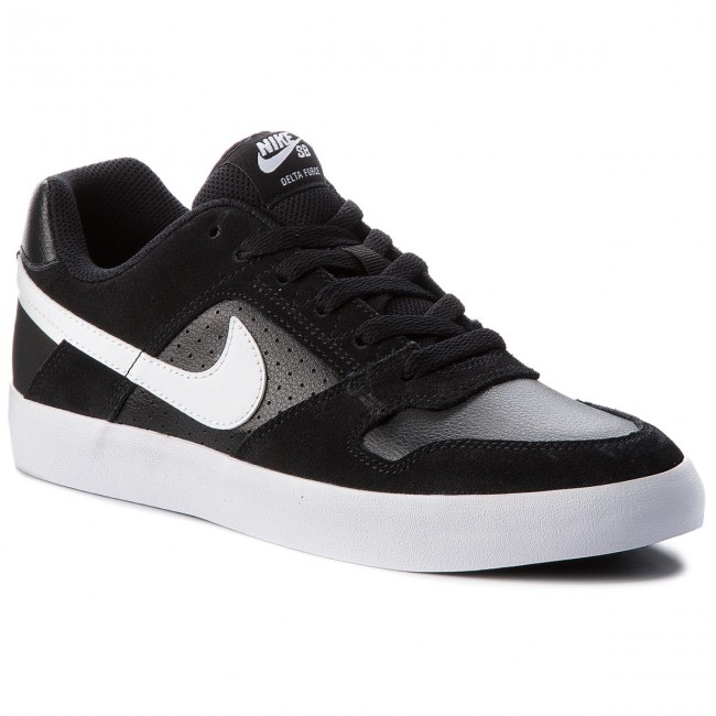 7feffacd37a0cc Shoes NIKE - Sb Delta Force Vulc 942237 010 Black White Anthracite White