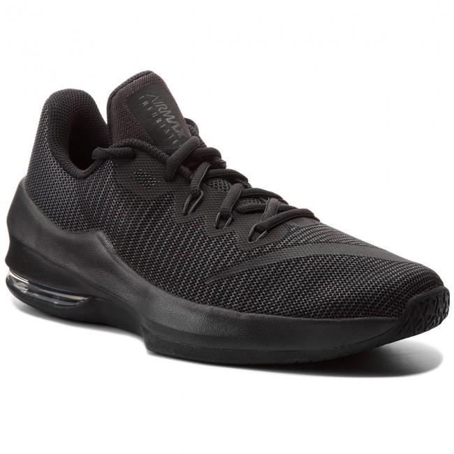 Shoes NIKE - Air Max Infuriate II (GS) 943810 001 Black/Black-