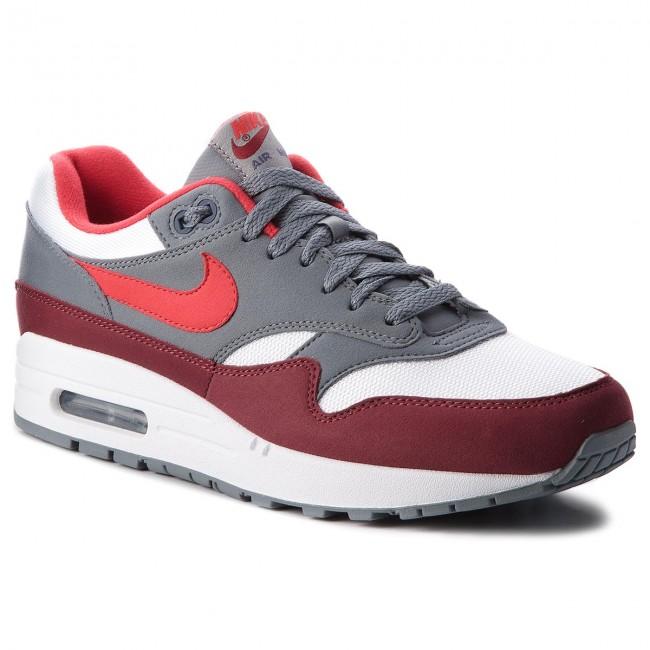 buy popular e9e88 e5c44 Shoes NIKE - Air Max 1 AH8145 100 White University Red Cool Grey