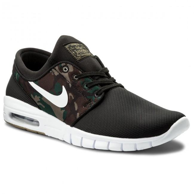 official photos c36ed 41b38 Shoes NIKE. Stefan Janoski Max 631303 021 Black White Medium Olive