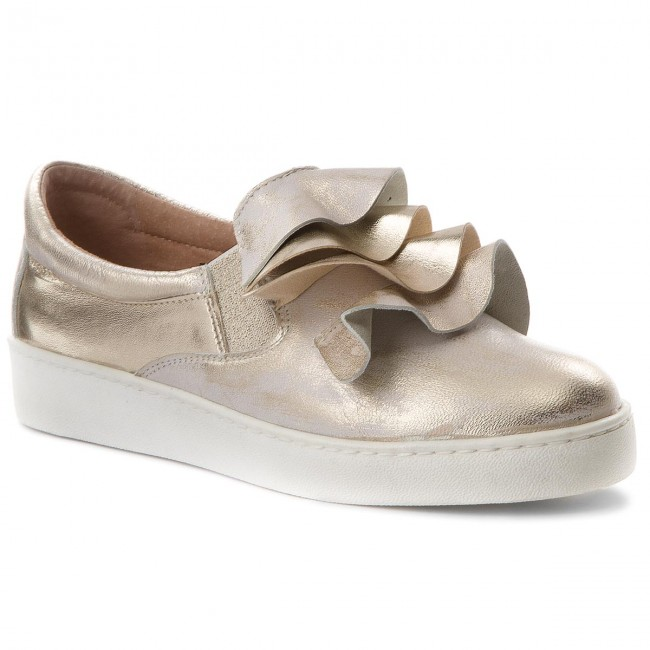 Sneakers EKSBUT - 28-4822-672/F16-1G Złoto gGynKGIuF