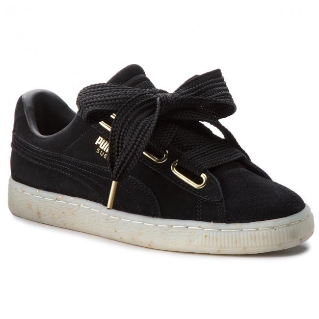 115c8f2f14c Sneakers PUMA - Suede Heart Celebrate 365561 01 Puma Black Puma ...