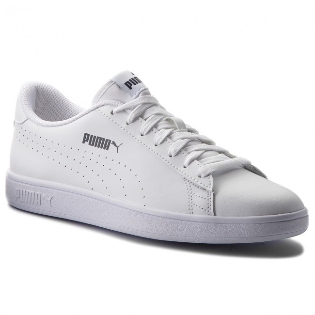 6af7f2623be Sneakers PUMA - Smash V2 L Perf 365213 02 Puma White Puma White ...