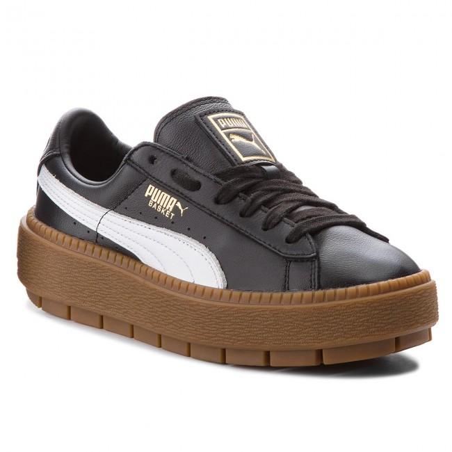 Sneakers PUMA - Platform Trace L 366109 01 Puma Black/Puma White Sjeimiho