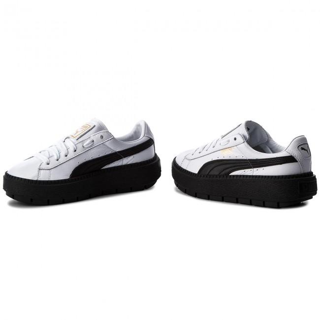 06078c904356 Sneakers PUMA - Platform Trace L Wn s 366109 02 Puma White Puma Black