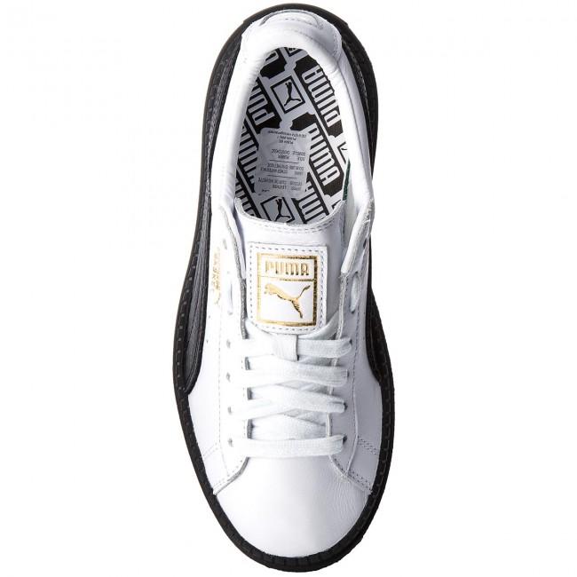 a8e9e65ce0c9 Sneakers PUMA - Platform Trace L Wn s 366109 02 Puma White Puma Black -  Sneakers - Low shoes - Women s shoes - www.efootwear.eu