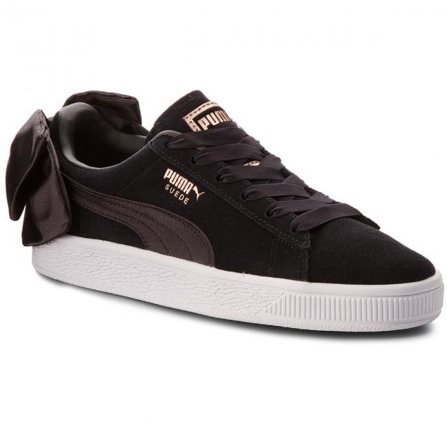 04 Black Bow Wn's Puma Sneakers Blackpuma 367317 Suede w0EzxZqX
