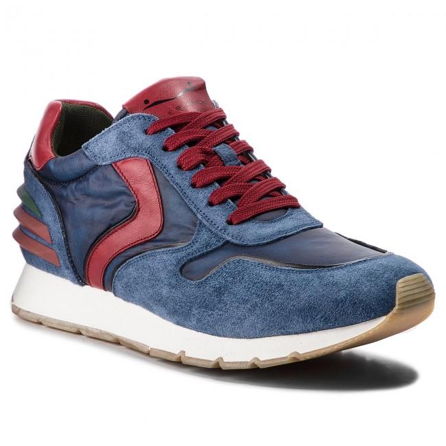 Sneakers VOILE BLANCHE - Liam Power 0012012774.07.9162 Azzurro Roso ... 5ead497bd79