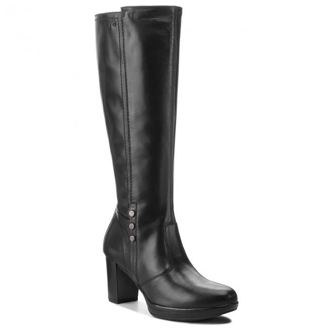 Knee A807021d Nero 100 Boots Jackboots Giardini High rwRBx6Fr