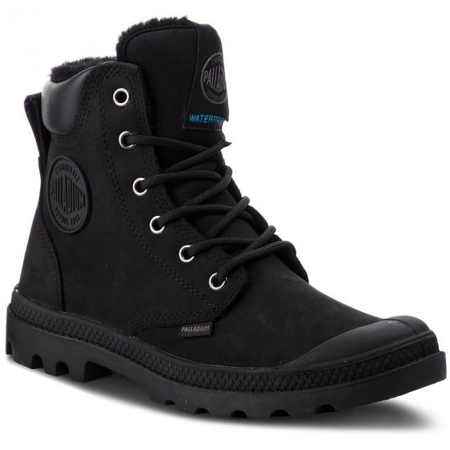 Hiking Boots PALLADIUM - Pampa Sport Cuff Wps 72992-010-M Black ... 0771d983b36