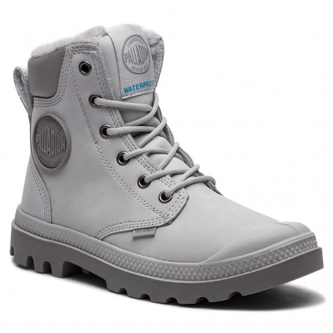 2dddbc1c498 Hiking Boots PALLADIUM - Pampa Sport Cuff Wps 72992-096-M Vapor/Cloudburst