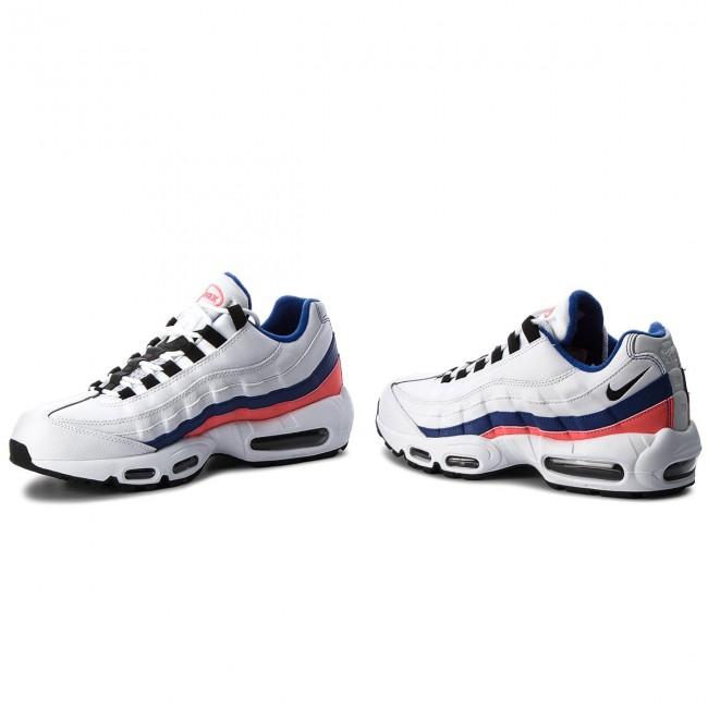online retailer 63325 7db08 Shoes NIKE - Air Max 95 Essential 749766 106 White Black Solar Red
