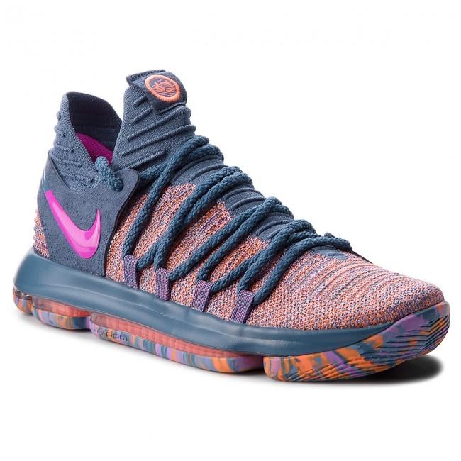 78db6c3c507 Shoes NIKE - Zoom Kd10 Lmtd 897817 400 Ocean Fog Fuchsia Blast ...