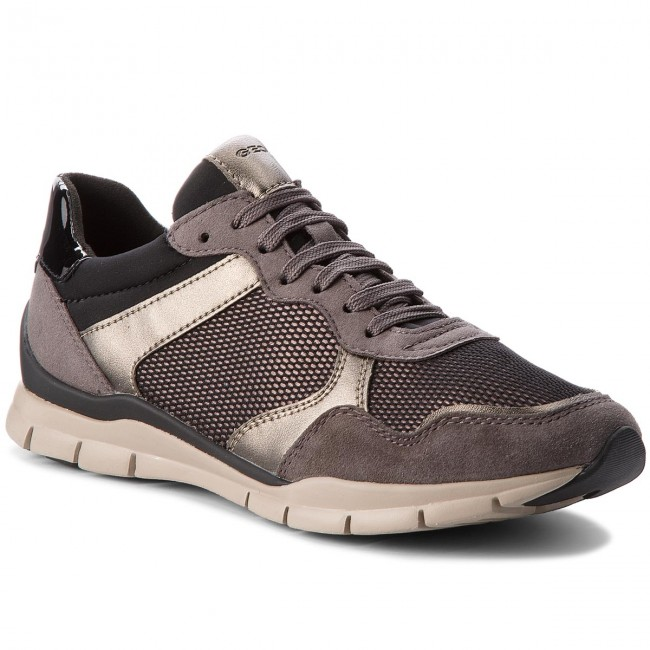 Sneakers GEOX - D Sukie A D74F2A 022DV C1176 Dk Grey Chestnut ... 0c7f3a29350