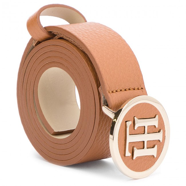 d0de52efcbade Women s Belt TOMMY HILFIGER - Th Round Buckle 3.0 AW0AW05880 85 262 ...