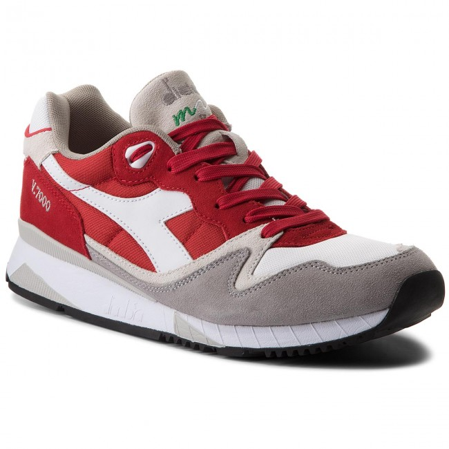 C6649 Diadora Pompeian 501 Ii Sneakers 170939 Red V7000 01 Nyl 0OfwFT