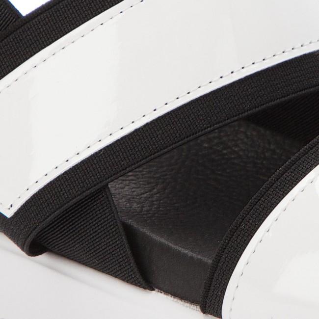 02001 Sandals White 07097 Madden Steve Sandal Sake Flat 91001123 HIWE29DY