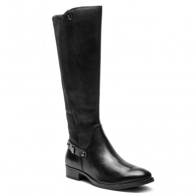2da818bcaaed2 Knee High Boots CAPRICE - 9-25521-21 Black Nappa 022 - Knee-high ...